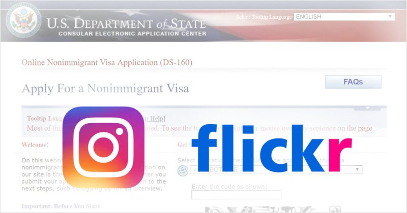 Form Ds 160 Fee, Applying For A Us Visa Send Them Your Flickr Username, Form Ds 160 Fee
